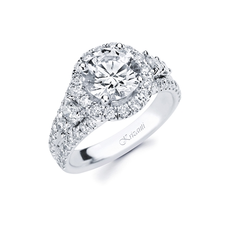 18KTW ENGAGEMENT RING 1.23CT