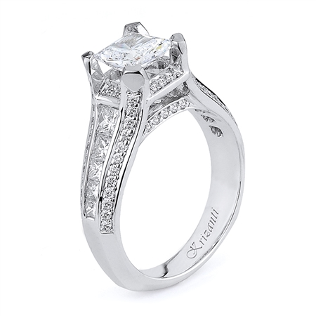 18KTW ENGAGEMENT RING 1.00CT