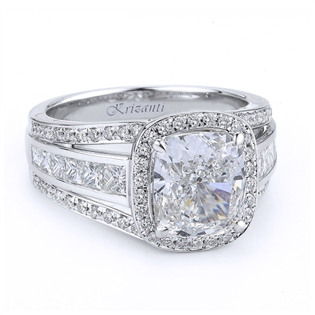 18KTW ENGAGEMENT RING, DIAMOND 1.20CT