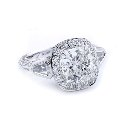 18KTW ENGAGEMENT RING 1.74CT