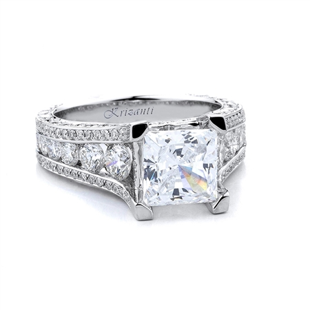 18KTW ENGAGEMENT RING 2.71CT