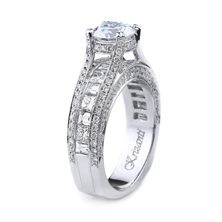 18KT WHITE ENGAGEMENT 2.27CT