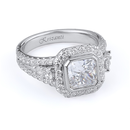 18KTW ENGAGEMENT RING 1.16CT