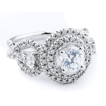 18KTW ENGAGEMENT RING 1.07CT