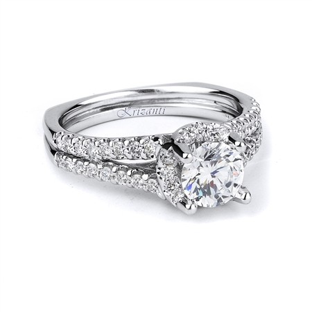 18KTW ENGAGEMENT RING 0.60CT