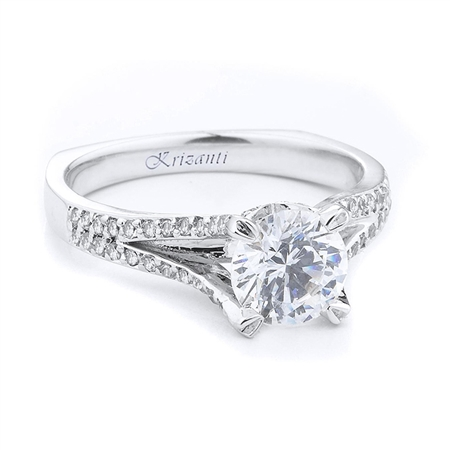 18KTW ENGAGEMENT RING 0.28CT