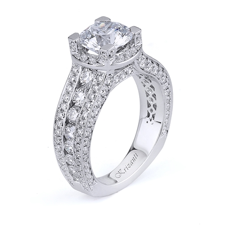 18KTW ENGAGEMENT RING 1.90CT