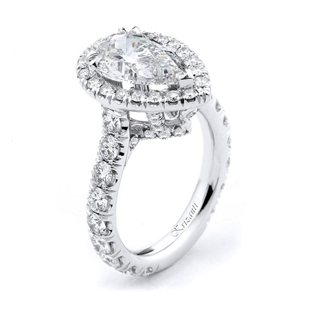 18KTW ENGAGEMENT RING 1.68CT
