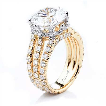 18KT 2 TONE ENGAGEMENT 2.35CT