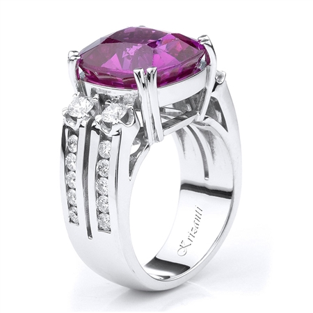 18KTW FASHION RING, DIAMOND 1.00CT