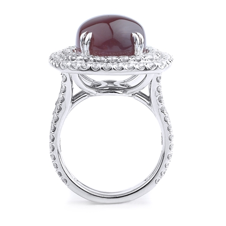 18KT.W FASHION RING 2.85CT