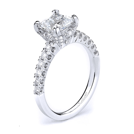 18KTW ENGAGEMENT RING 0.50CT