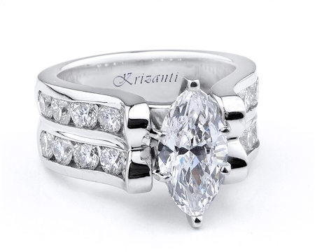 18KTW ENGAGEMENT RING 2.00CT