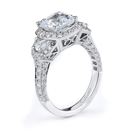 18KTW ENGAGEMENT RING 1.24CT