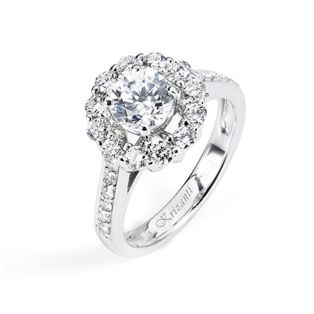 18KTW ENGAGEMENT RING 0.77CT