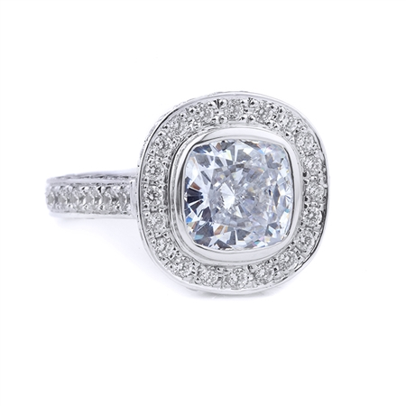 18KT WHITE ENGAGEMENT 1.45CT