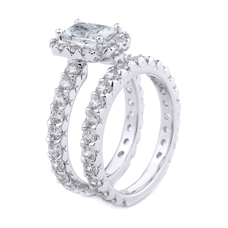 18KT.W ENGAGEMENT RING DIAM-1.90CT