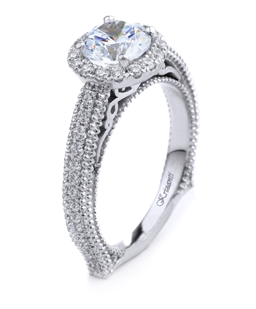 18KT.W ENGAGEMENT RING DIAM-0.51CT