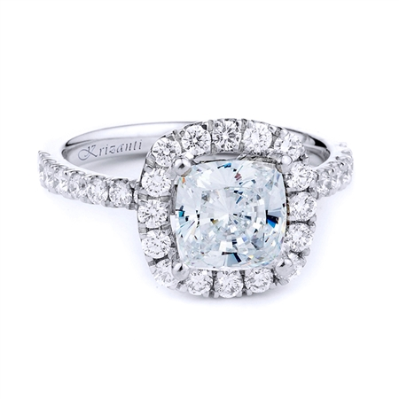18KTW ENGAGEMENT RING, DIAMOND 0.71CT