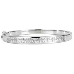 18KTW BANGLE DIAMOND 5.87CT