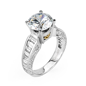 18KTW ENGAGEMENT RING 1.88CT