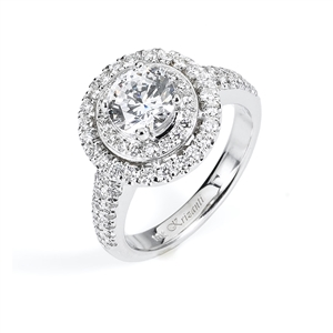 18KTW ENGAGEMENT RING 0.72CT