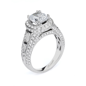 18KTW ENGAGEMENT RING DIAMOND 1.69CT