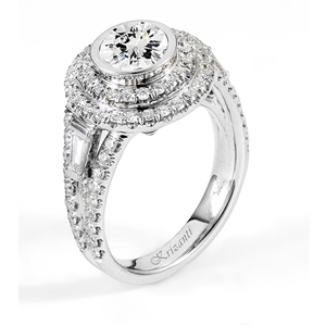 18KTW ENGAGEMENT RING 1.32CT