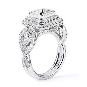 18KTW ENGAGEMENT RING 1.75CT