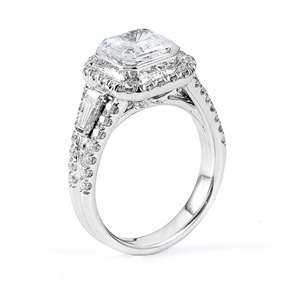 18KTW ENGAGEMENT RING 1.01CT