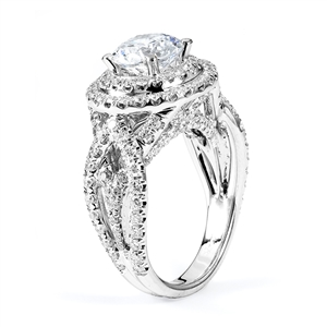 18KTW ENGAGEMENT RING 1.60CT