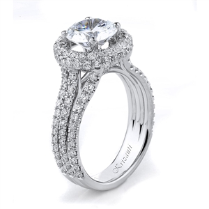 18KTW ENGAGEMENT RING 1.25CT