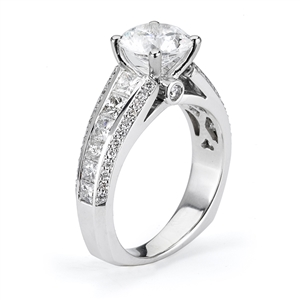 18KTW ENGAGEMENT RING DIAMOND 1.52CT