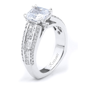 18KTW ENGAGEMENT RING 1.52CT