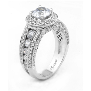 18KTW ENGAGEMENT RING, DIAMOND 1.80CT