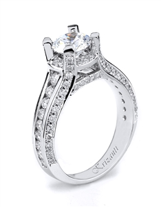 18KTW ENGAGEMENT RING 1.11CT
