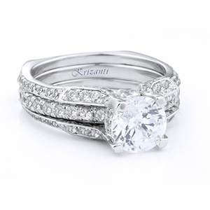 18KTW RING GUARD DIAMOND 0.75CT