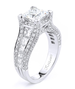 18KTW ENGAGEMENT RING 1.94CT