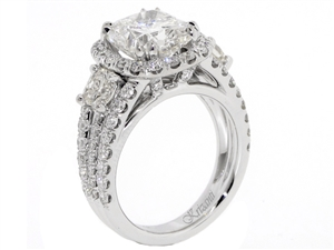 18KTW ENGAGEMENT RING 1.30CT
