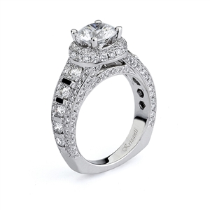 18KTW ENGAGEMENT RING, DIAMOND 1.77CT