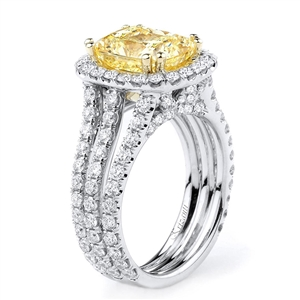 18KTW ENGAGEMENT RING 1.85CT