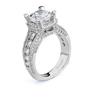 18KTW ENGAGEMENT RING 1.72CT
