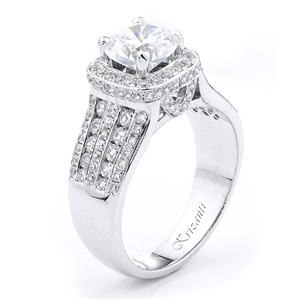 18KTW ENGAGEMENT RING, DIAMOND 0.95CT