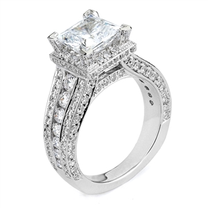 18KTW ENGAGEMENT RING 1.83CT
