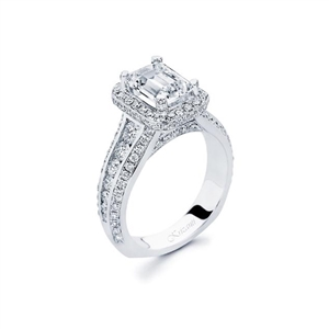 18KTW ENGAGEMENT RING, DIAMOND 1.30CT