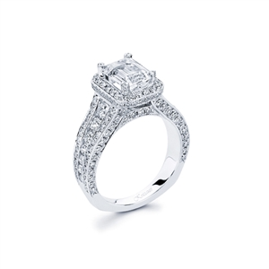 18KTW ENGAGEMENT RING, DIAMOND 1.75CT