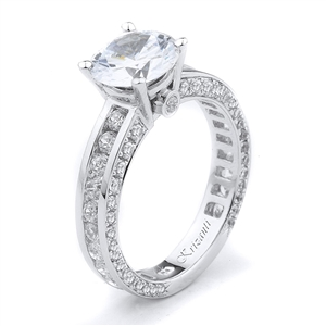 18KTW ENGAGEMENT RING 1.40CT