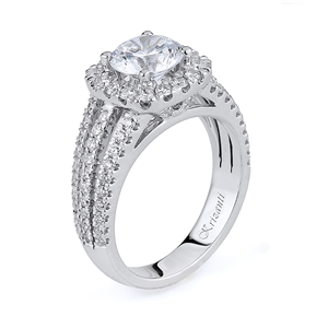 18KTW ENGAGEMENT RING 0.95CT