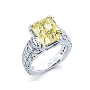 18KTW ENGAGEMENT RING, DIAMOND1.00CT