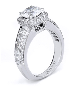 KRIZANTI 18K WHITE ENGAGEMENT 1.45ct